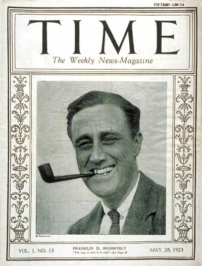 FDR on TIME