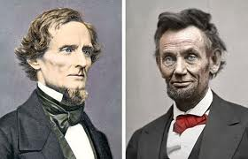 Presidents Lincoln and Davis